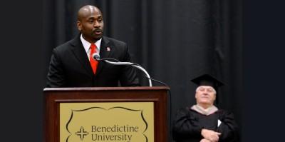Commencement speech Benedictine University - Torian Richardson